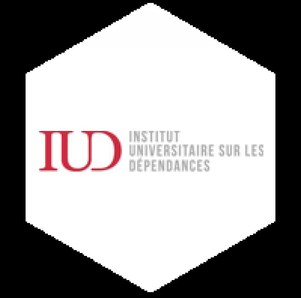 logo institut universitaire sur les dépendances