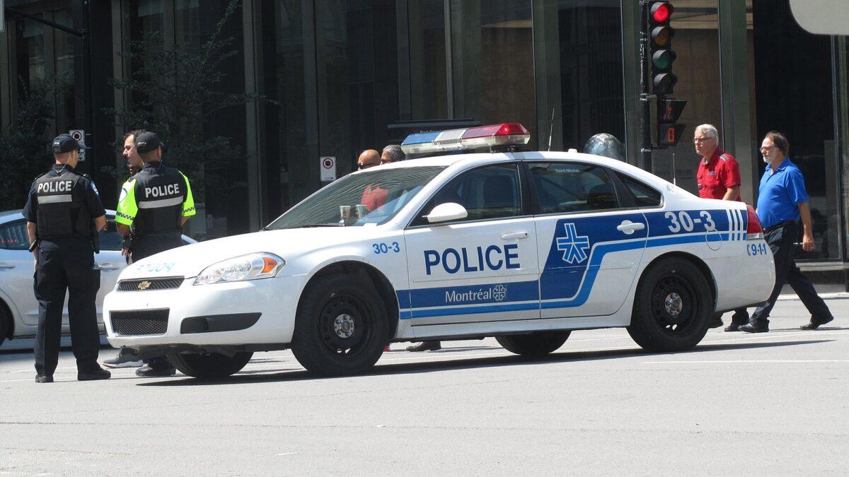voiture police car montréal montreal
